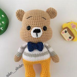 Amigurumi Erkek Tavşan Yapılışı- Amigurumi Crackers Bunny Free ...   300x300