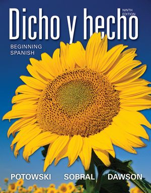 Dicho y hecho: beginning spanish 9th edition | online official.