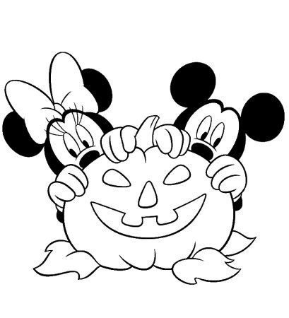 Halloween Coloring Pages: Free Printable Coloring Pages | 450x409
