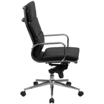 Pleasing High Back Black Leather Executive Swivel Chair With Synchro Pdpeps Interior Chair Design Pdpepsorg