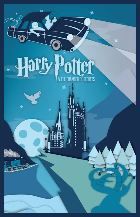 Harry Potter Series Posters 1&2