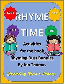Rhyming Dust Bunnies Activities And Lesson Plans Lesson Plans