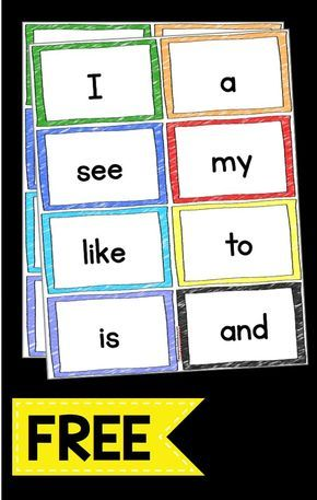 Sight Words — Keeping My Kiddo Busy Sight word flash cards FREEBIE – print these flash cards for free and use on your word wall or sight word unit – kindergarten or Pre-K words – Kindergarten Lesson Plans Pre K Sight Words, Preschool Sight Words, Teaching Sight Words, Sight Word Practice, Sight Word Activities, Preschool Activities, Kindergarten Sight Words List, Sight Words For Kindergarten, Sight Word Wall