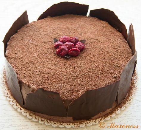 Шварцвальдский вишневый торт («Чёрный лес»). Немецкая кухня