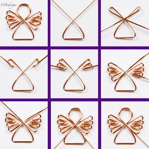 Diy wire jewelry - Holidays are coming, holidays are coming – Diy wire jewelry Handmade Christmas Decorations, Diy Christmas Ornaments, Holiday Crafts, Christmas Christmas, Decoration Crafts, July Crafts, Christmas Signs, Christmas Wrapping, Xmas Decorations