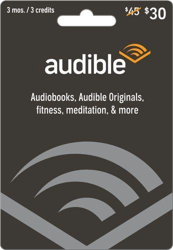 Audible 30 Gift Card Audible 30 Best Buy Amazon Gift Card Free Gift Card Free Amazon Products