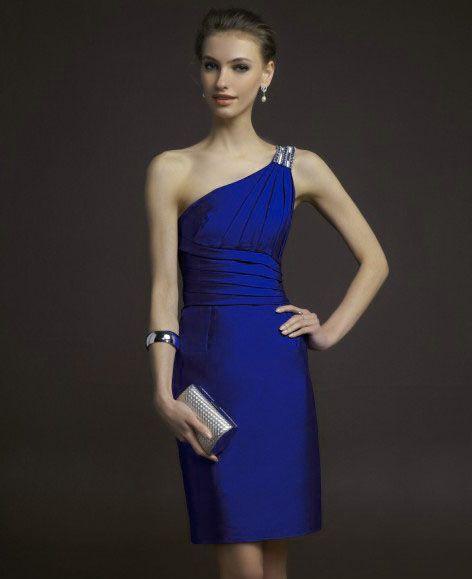 891794f6e1bd Modelos de vestidos para fiesta de noche cortos | corte y confección ...