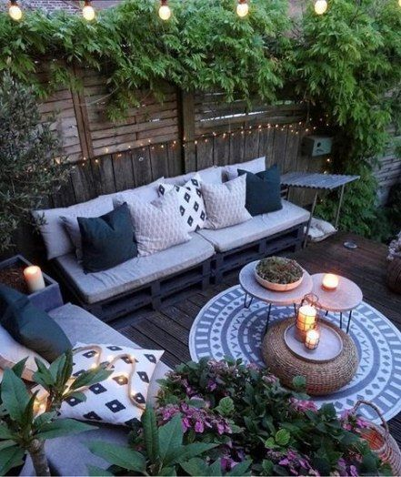 28 Ideas Backyard Patio Boho Outdoor Spaces Backyard Boho