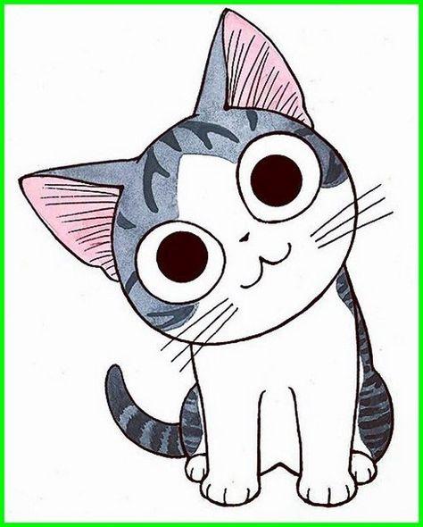 Kucing Lucu Kartun Png Kuwcing