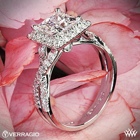 Dear future husband: This one. Love, me - Verragio Princess Cut Diamond Ring