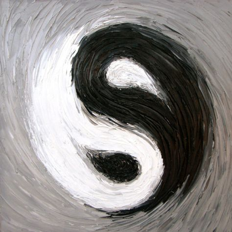 """I chose this picture of a Ying and Yang symbol to represent two conflicting forces; light and dark motif. In Act I, Scene I, Lord Montague says, """" Shuts up his windows, locks fair daylight out And makes himself an artificial night"""""""