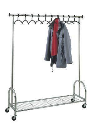 Garderoben Und Prospektstander Fahrbare Garderobenstander