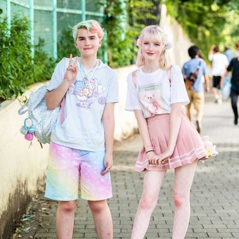 Would you wear this look?   Follow us to see more!🔥🔥 #otaku #freegia #pastel