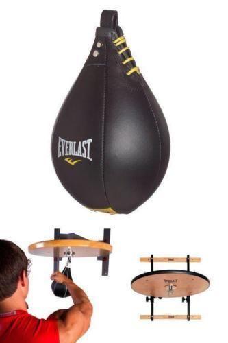 Leather Speed Bag FOR Everlast Elite Adjustable Speedbag Platform Boxing Gym NEW