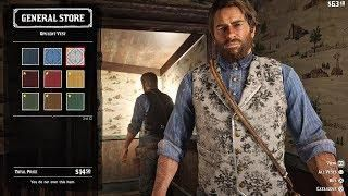 Red Dead Redemption 2 All Outfits Full Character Customization Rdr2 2018 Ps4 Pro Red Dead Redemption Redemption Dead