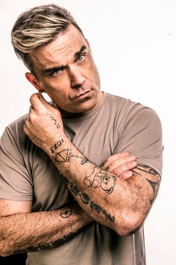 Robbie williams tattoos