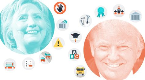Compare the Candidates: Where Do Clinton and Trump Stand on Education Issues?