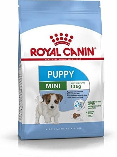 Dry Dog Food Mini Puppy Junior Royal Canin Complete 4kg Top