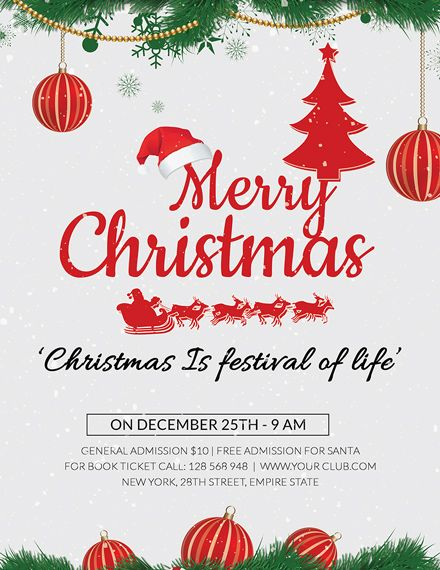 Christmas Holiday Flyer Template Free Jpg Word Apple Pages Psd Publisher Template Net Holiday Flyer Template Free Christmas Flyer Templates Holiday Party Flyer