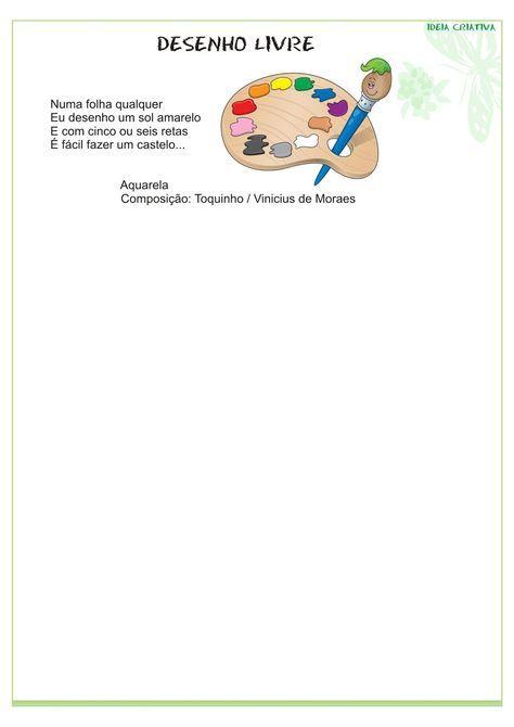 Modelo De Portfolio Educacao Infantil Portfolio Educacao