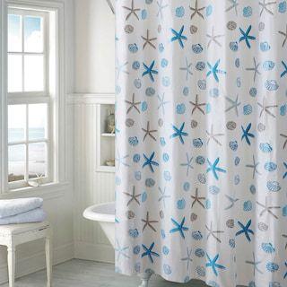 Ez On By Hookless Seashell Peva Shower Curtain Seashell Shower