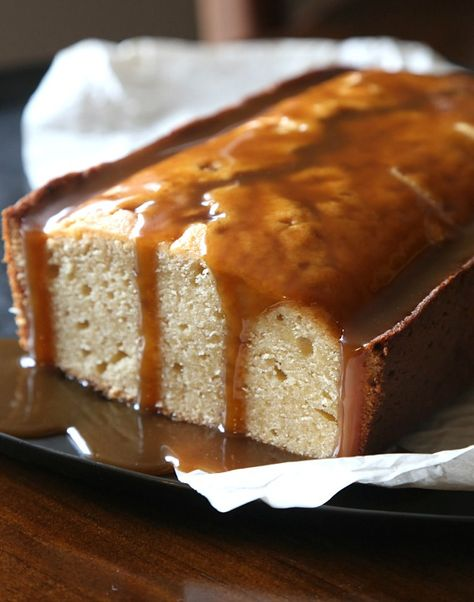 Pleasant Brown Sugar Pound Cake With Salty Butterscotch Sauce Recipe Birthday Cards Printable Giouspongecafe Filternl