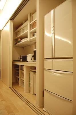 キッチン背面収納造作 の画像検索結果 収納 造作 背面収納