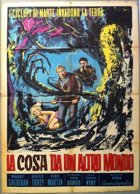 La Cosa Da Un Altro Mondo - 39x55 / Italy, 1961
