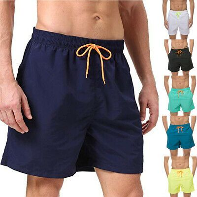 Mens Swim Trunk Beach Shorts with Lining Quick dry Nylon Waterproof with Pockets #fashion #clothing #shoes #accessories #mensclothing #swimwear (ebay link)