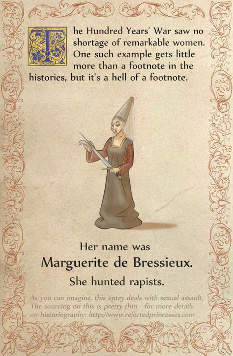 Rejected Princesses — Marguerite de Bressieux: Rapist Hunting Black...
