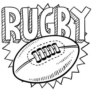 Rugby Touch Coloring Page More Sports Coloring Pages On Hellokids Com Sports Coloring Pages Coloring Pages Rugby Drawing