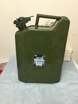 Ebay Advertisement 10l Military Jerry Metal Can For Oil Fuel Water Petrol Diesel Container In 2020 Water Storage Containers Metal Tank Water Storage