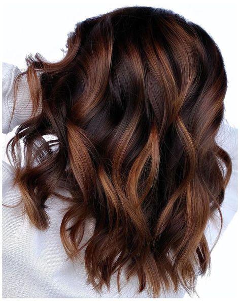 Highlights For Dark Brown Hair, Brown Hair Balayage, Bayalage, Hair Color Dark, Light Brown Hair, Cool Hair Color, Ombre For Brown Hair, 2 Tone Hair Color, Color For Short Hair