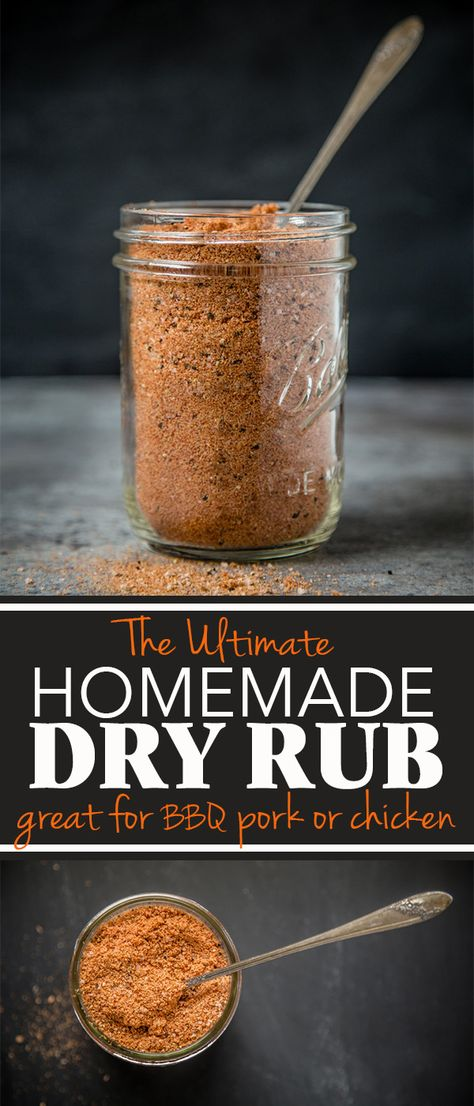 Ultimate Homemade Dry Rub for Pork and Chicken