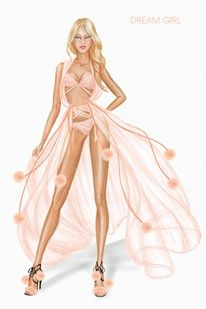 One of our 2014 Victoria's Secret Fashion Show Themes: Dream Girl! Get ready for some retro-inspired runway moments.