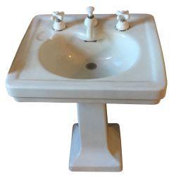 Ps16126 Pedestal Sinks Sink 1930s House