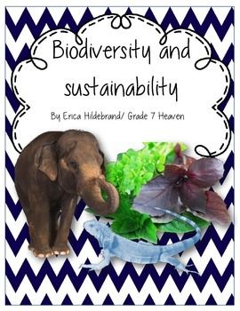 Biodiversity And Sustainability Middle School Science Teacher Biodiversity Secondary Science