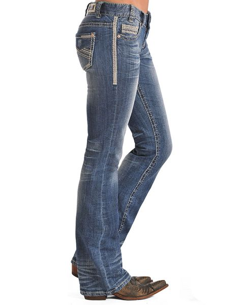 Roll Cowgirl Women's Trouser Low Rise