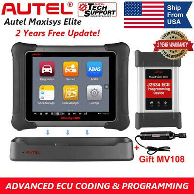 Ebay Advertisement Autel Maxisys Elite Car Obd2 Eobd Diagnostic