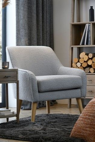 Ari Accent Chair With Light Legs In 2021 Occasional Chairs Living Room Accent Chairs Small Living Room Chairs