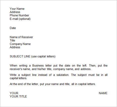 Business Letter Format Enclosure HttpCalendarprintablehubCom