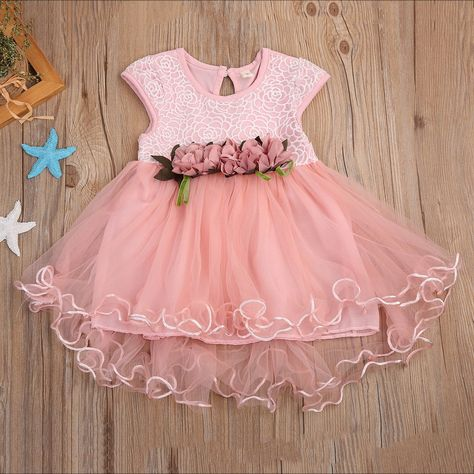 638179b244c2 Adorable Toddler Spring Floral Lace Dress