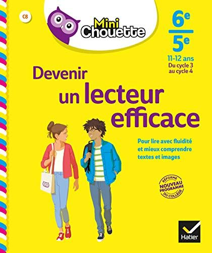 Mini Chouette Devenir Un Lecteur Efficace 6e 5e Cahier De