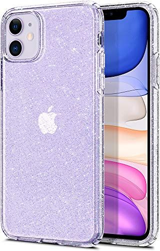 Spigen Liquid Crystal Glitter Designed For Apple Iphone 11 Case 2019 Crystal Quartz In 2020 Iphone Glitter Iphone Case Screen Protector Iphone