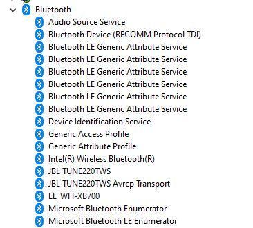 Bluetooth Device (rfcomm Protocol Tdi)