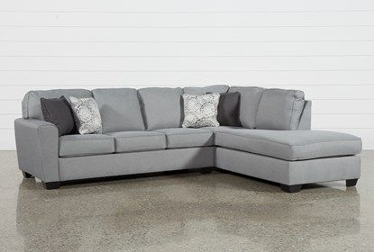 Mcdade Ash 2 Piece Sectional With Right Arm Facing Armless Chaise