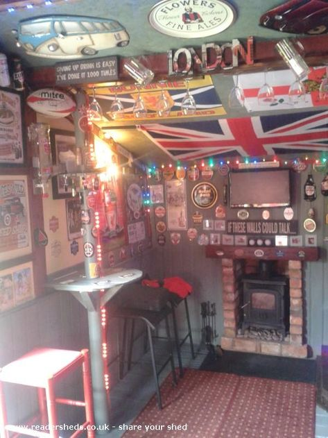 Gardeners Rest Pub Entertainment From Garden Shedoftheyear Enter Your Shed Now For 2020 With Images Pub Sheds Bar Shed