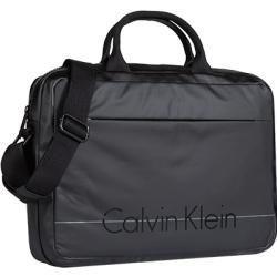 Calvin Klein Laptop Tasche Herren Mikrofaser Schwarz Calvin Kleincalvin Klein In 2020 Laptop Bag Laptop Bag Men Notebook Bag
