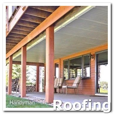 Roofing Diy Get Free Quotes Roofing Prices Can Vary From Roofer To Roofer And You Want To Find Out What T Under Deck Roofing Under Decks Building A Deck