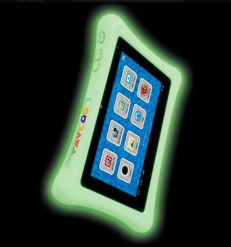 Glow-in-the-dark bumper for the nabi 2 #tablet. Accessories will be available for pre-order on our website within 2 weeks! Stay tuned for all pricing and details.